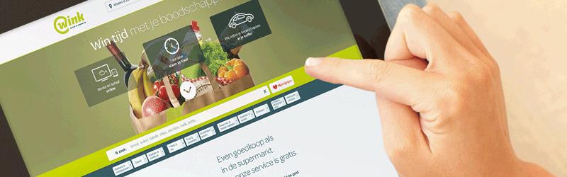 wink online belgische supermarkt